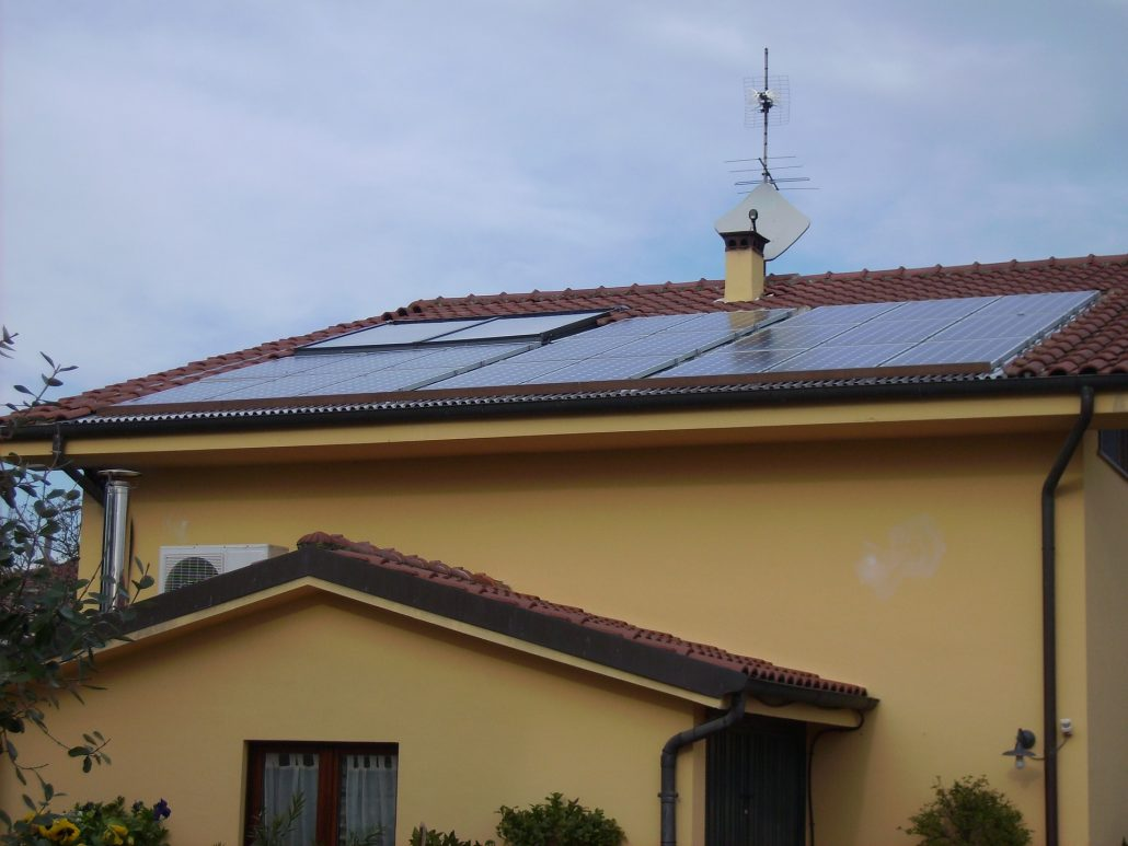How to glue solar panel to roof